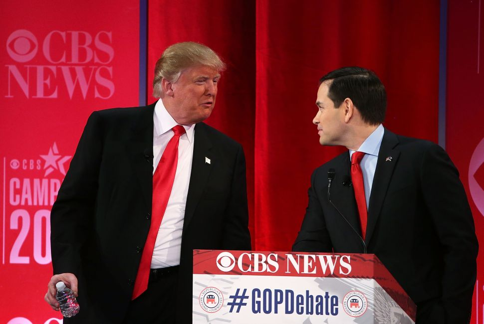 'Crazy, Nuts'—Trump, Cruz, Rubio and Bush Have a Creepy, Vicious Debate