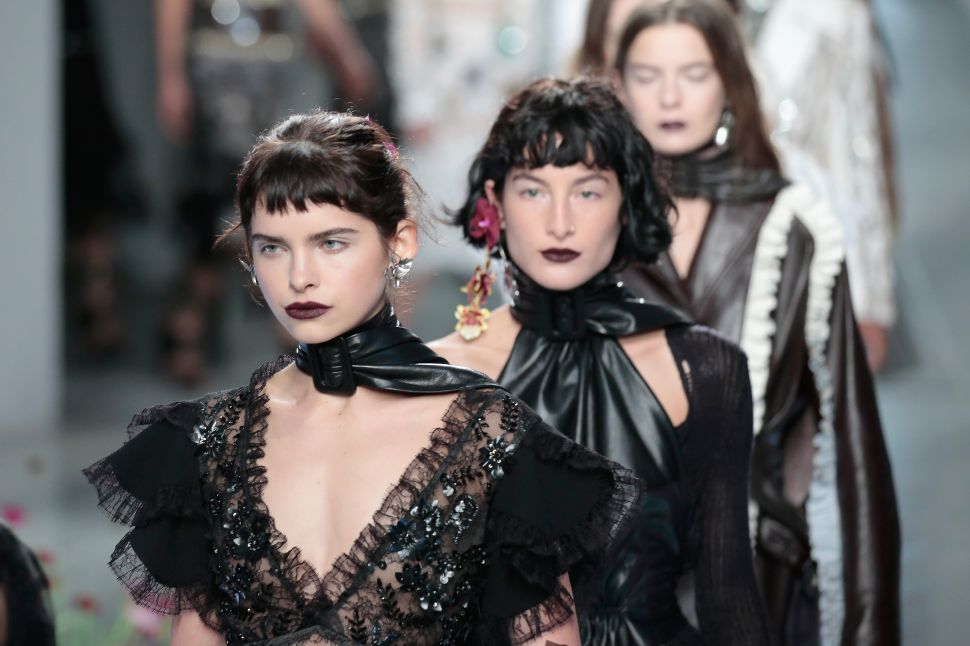 Rodarte Nails the Notion of a Bad Girl Gone Glam