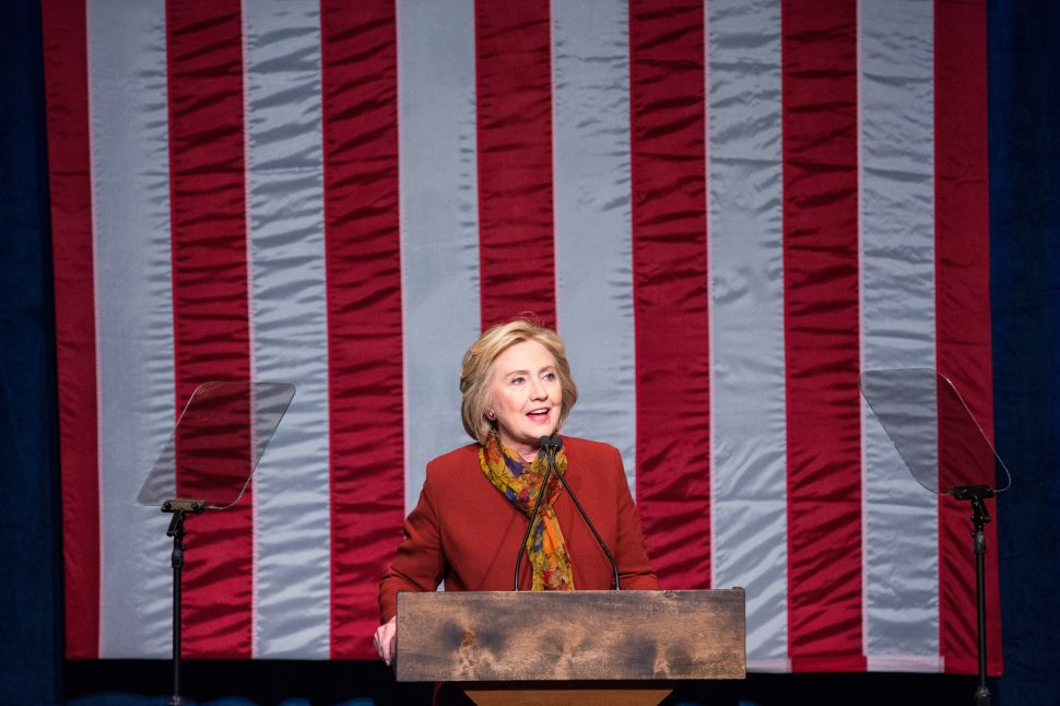 Hillary Clinton Says She'll Be the Candidate for Blacks, Not Bernie Sanders