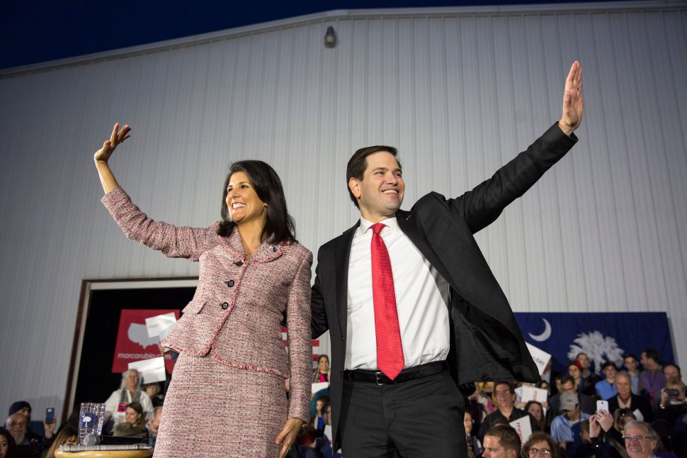 A Rubio-Haley Ticket Would Be Hillary's Worst Nightmare
