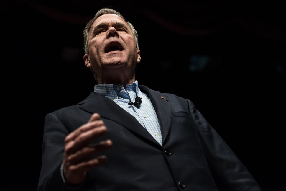 Why Liberals Should Cheer the Demise of Jeb Bush
