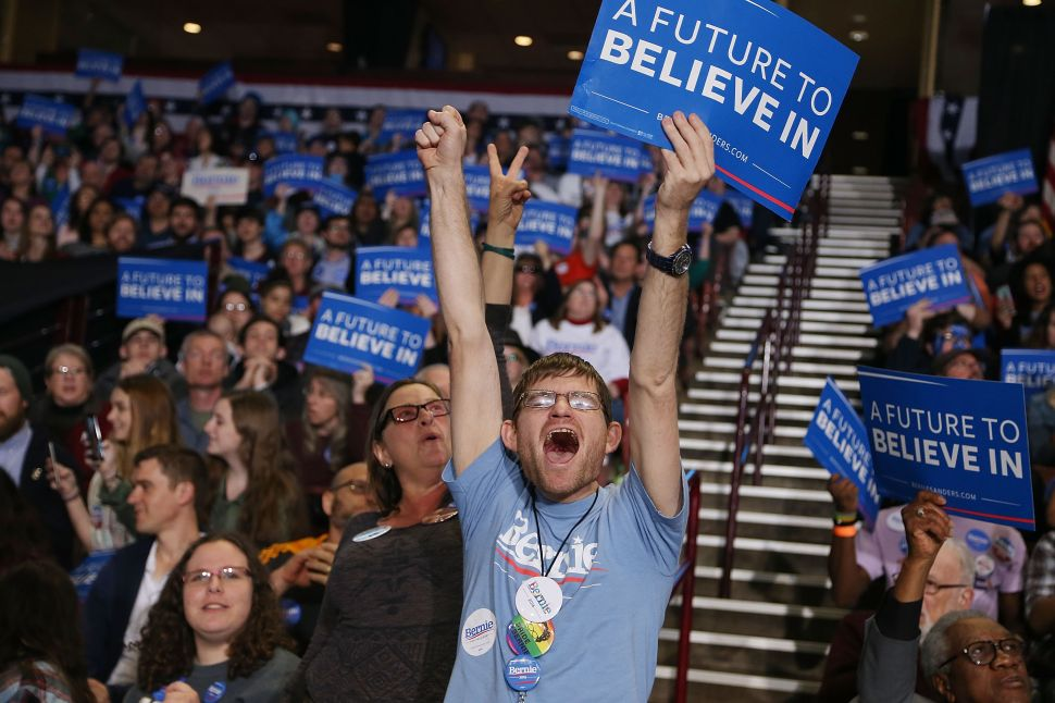 If Sanders Loses, Bernie Believers Will Take the DNC Down