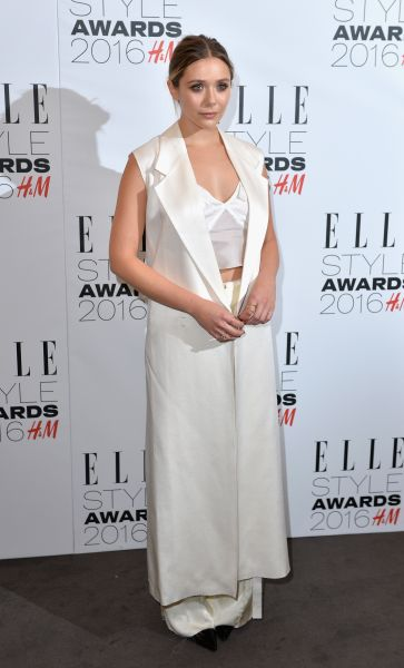 Elizabeth Olsen in Calvin Klein