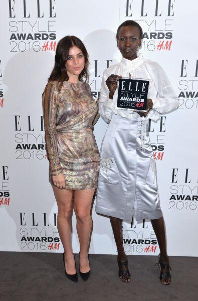 Julia Restoin Roitfeld in H&M Conscious and Alek Wek in H&M Conscious
