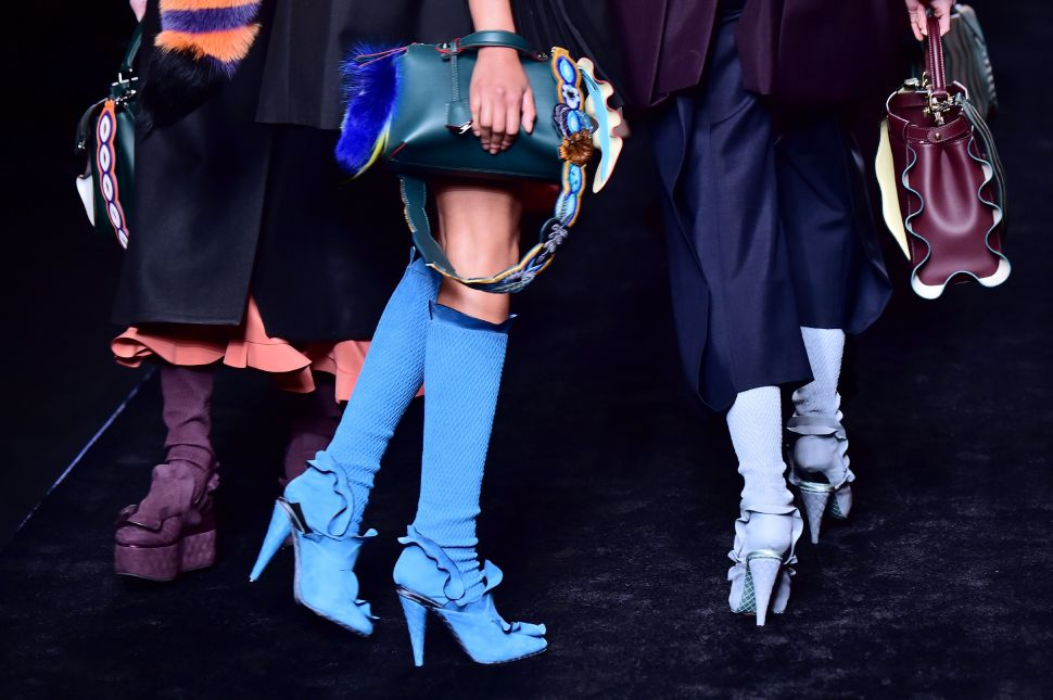 Ruffles, Fur and Cartoon Characters Stole the Show at Fendi