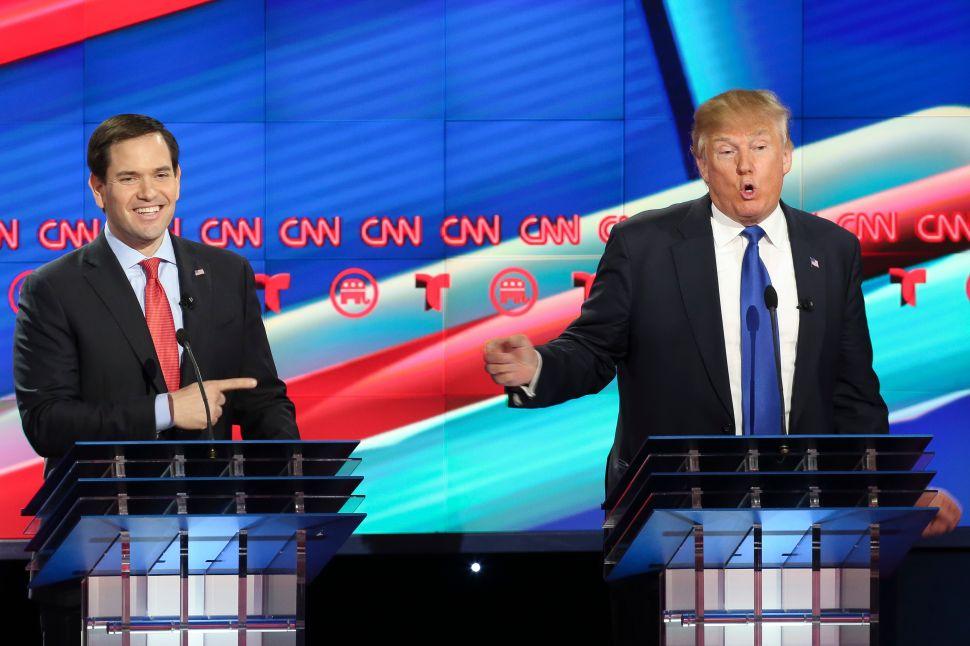 Rubio Declares Galactic War on Trump
