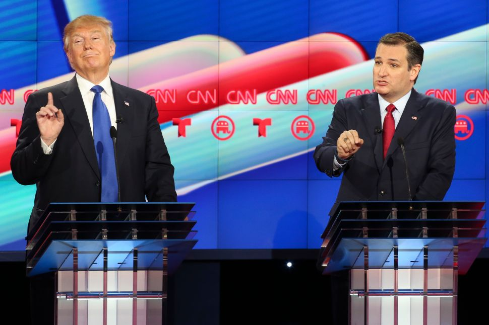 GOP Smackdown: Cruz and Rubio Double-Team Trump While Carson Begs for Air