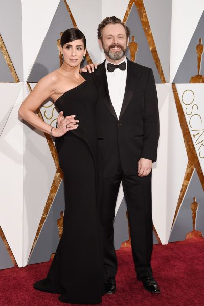 Sarah Silverman in Zac Posen and Michael