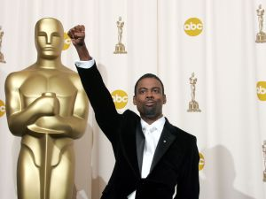 Chris Rock hosts the 2016 Oscars.