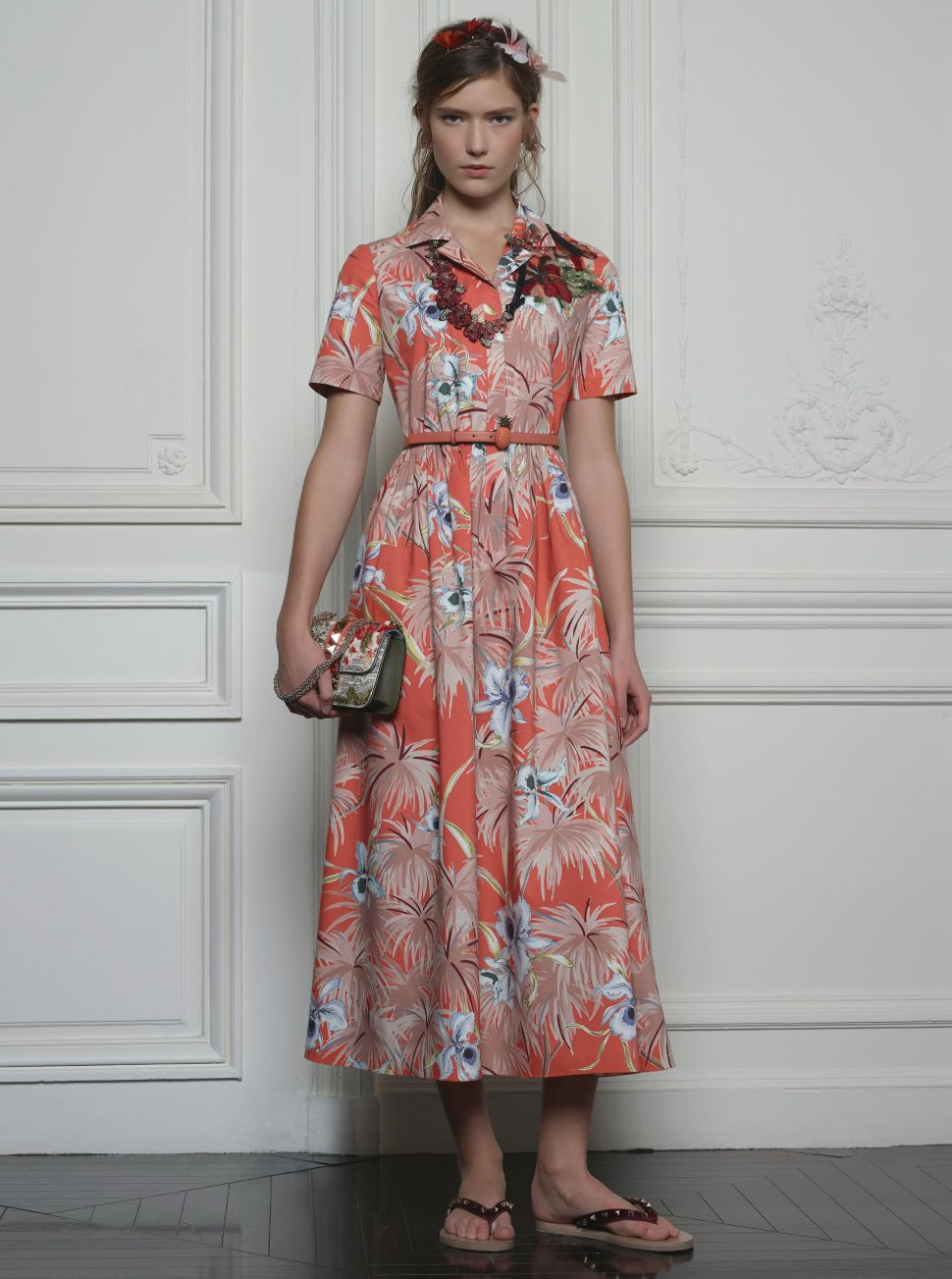 Combat Winter Blues With Valentino's Hawaiian Couture Collection