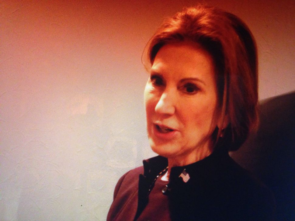 Fiorina: 'The Game is Rigged in New York and Washington'