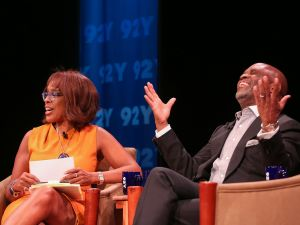 Gayle King and L.A. Reid. (Laura Massa/Michael Priest Photography)