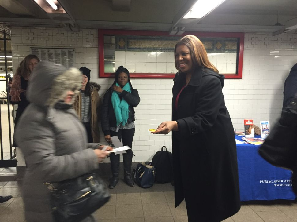 Public Advocate Letitia James Wants You to Have Safe Sex This Weekend