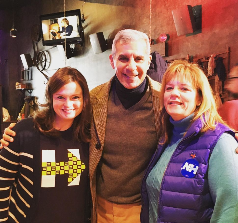 New Jersey Republican Senator Crosses Paths with Dem Committee Members in Manchester