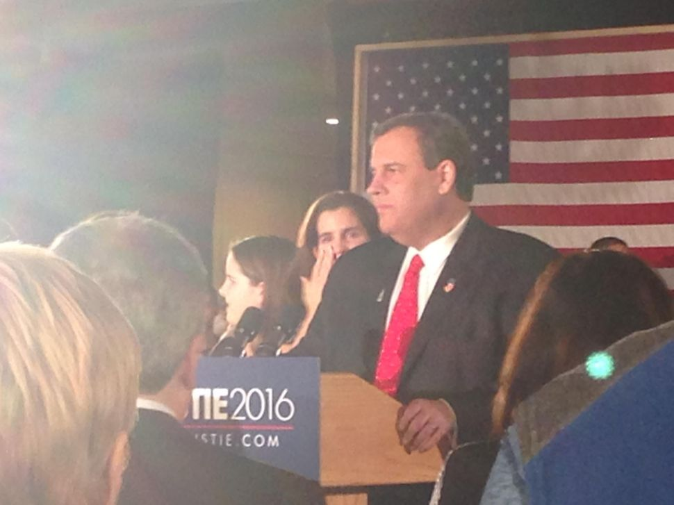 Christie: 'We Will Go Home to New Jersey'