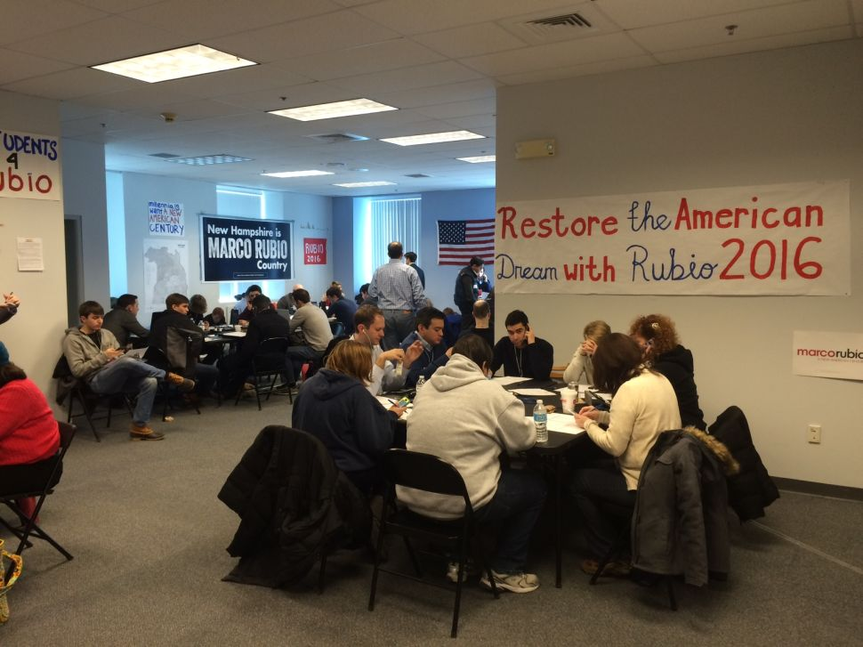 Rubio Supporter Says Campaign HQ Still Busy in Home Stretch