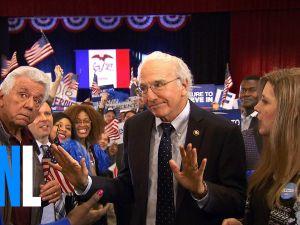 Larry David as Bernie Sanders on Saturday Night Live last weekend.