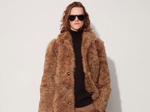 Teddy bear chic (Photo: Courtesy Michael Kors).