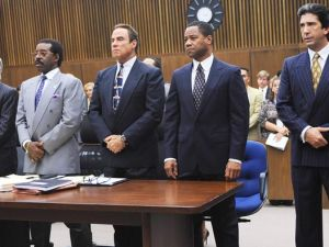 The lawyers of O.J. Simpson on American Crime Story.