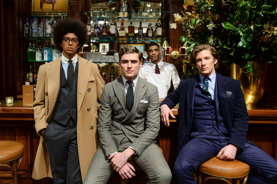 Ralph Lauren's Fashion Week Presentation Included a Replica of The Polo Bar