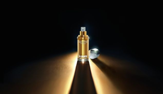 Cellular Radiance Perfecting Fluide Pure Gold (Photo: Courtesy La Prairie).