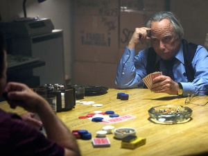 Richard Dreyfuss shows us his poker face in Madoff.