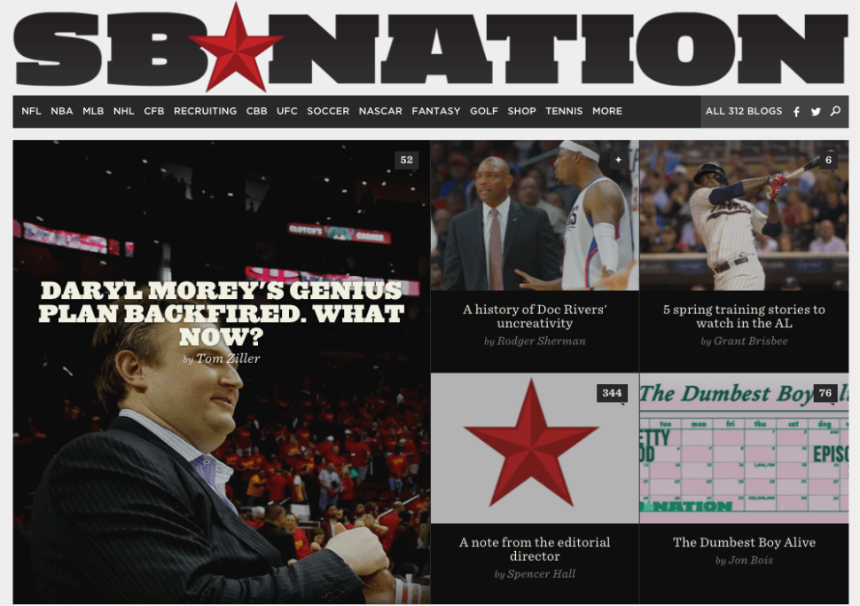 SB Nation Takes Hiatus From Longform After Problematic Article