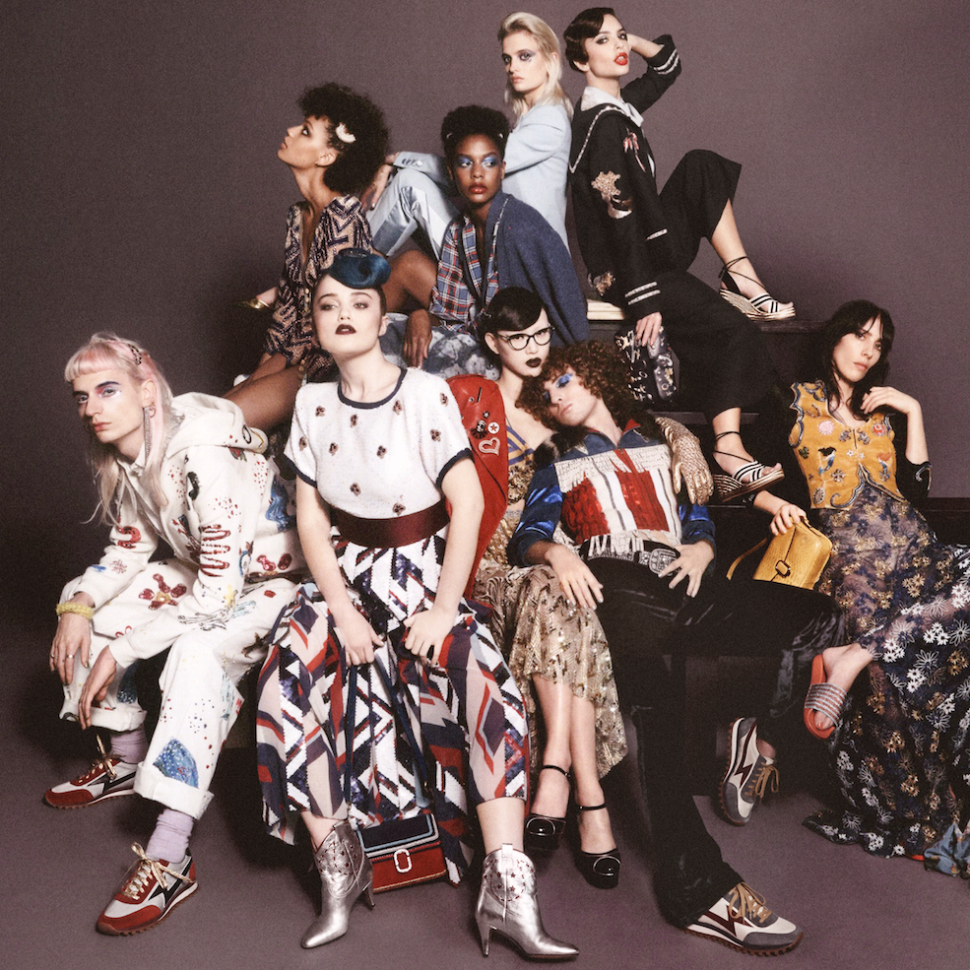 Marc Jacobs Casts His 'Family' in This Spring 2016 Ad Campaign