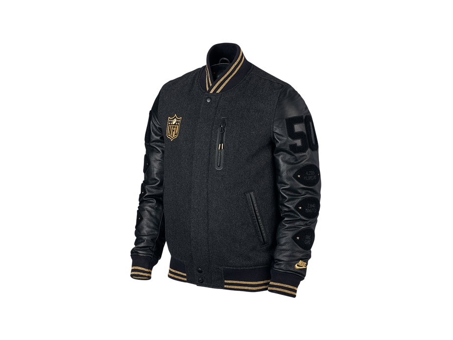 Gear Up For the Super Bowl With a Limited-Edition Nike Bomber Jacket