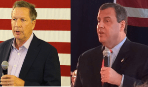 Kasich and Christie.