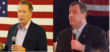 A Tale of Two Governors: Kasich and Christie on the Campaign Trail
