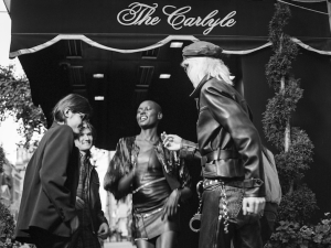 Ajak Deng and The Wolfpack (Photo: Courtesy Barneys New York).