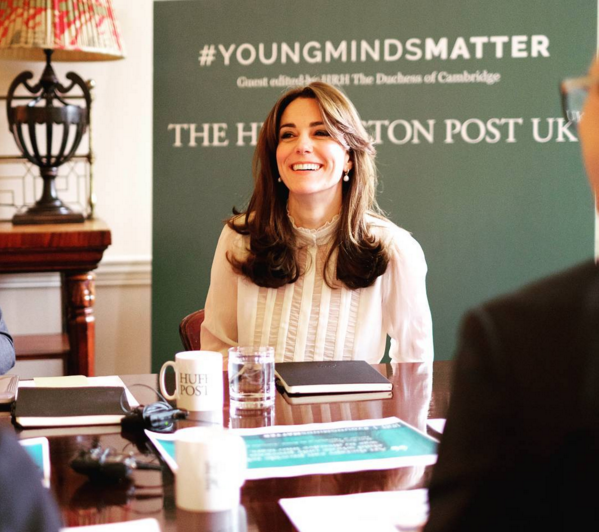 Kate Middleton Begins Her New Job Today