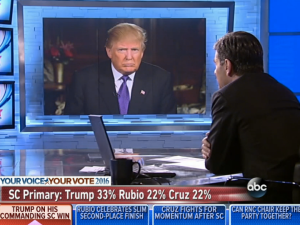 Trump in control on This Week with George Stephanopoulos.