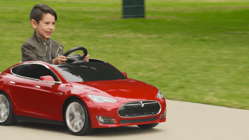 Tesla for Toddlers? It's Real and Available for Pre-Order