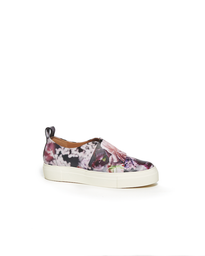Put Some Spring in Your Step With a Pair of Floral Sneakers