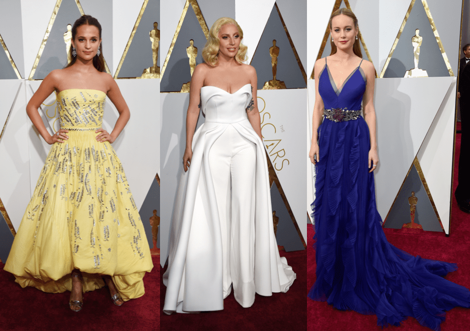 The Most Daring Dresses and Best Princess Gowns From the Oscars Red Carpet