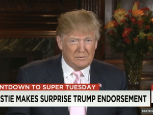 Donald Trump joins Jake Tapper on State of the Union on CNN.