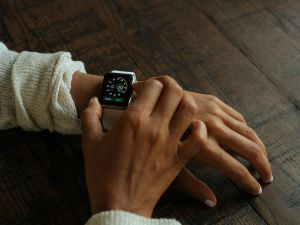 A smart watch.