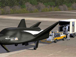Sierra Nevada Corporation's Dream Chaser Cargo Spacecraft on Runway (Image: SNC)