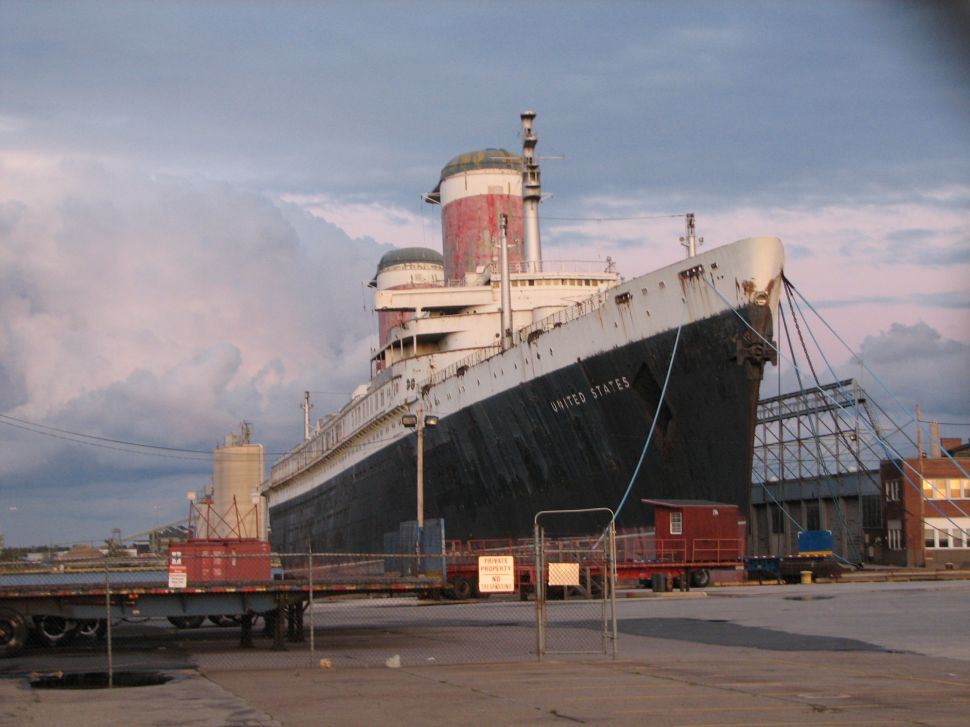 On the Market: S.S. United States Will Not Be Turned into Scrap… Yet