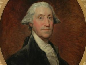 George Washington, (ca. 1795) by Gilbert Stuart.