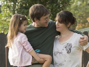 Mark Duplass and Melanie Lynskey on Togetherness.