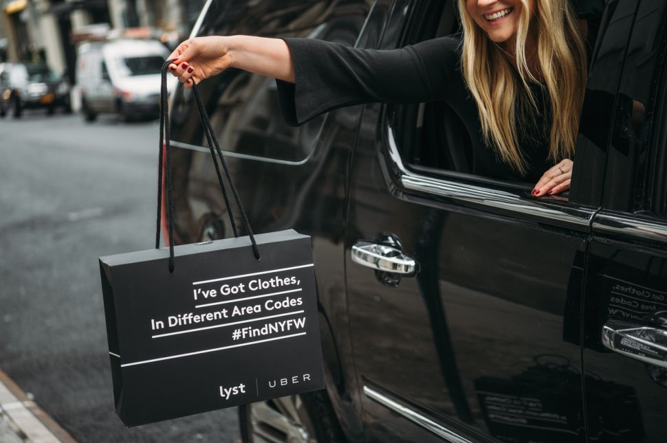 Uber and Lyst Are Giving Away NYFW Swag Bags, Stuffed With Designer Clothes