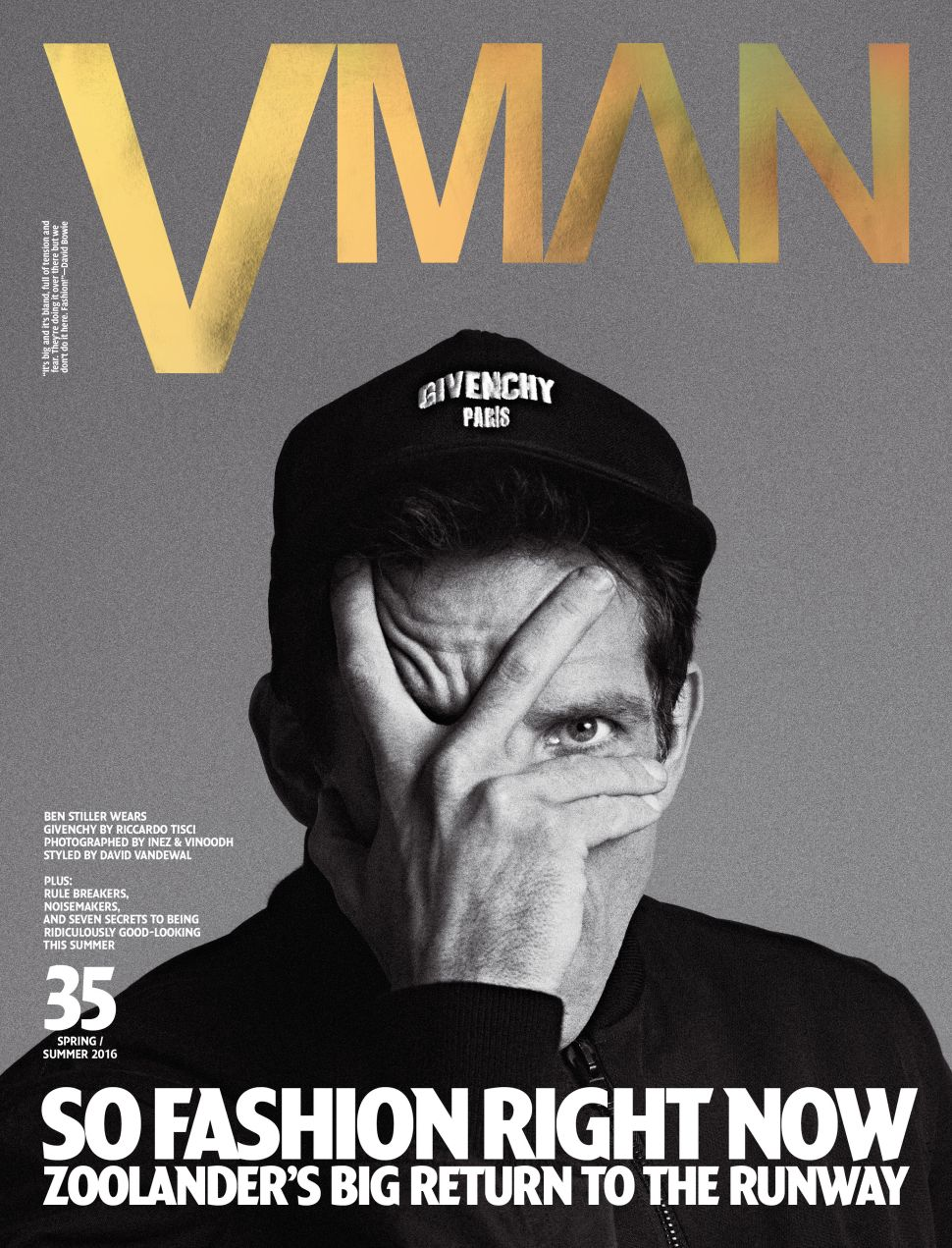 Ben Stiller Lands 4 Magazine Covers, Now Takes Fashion Seriously