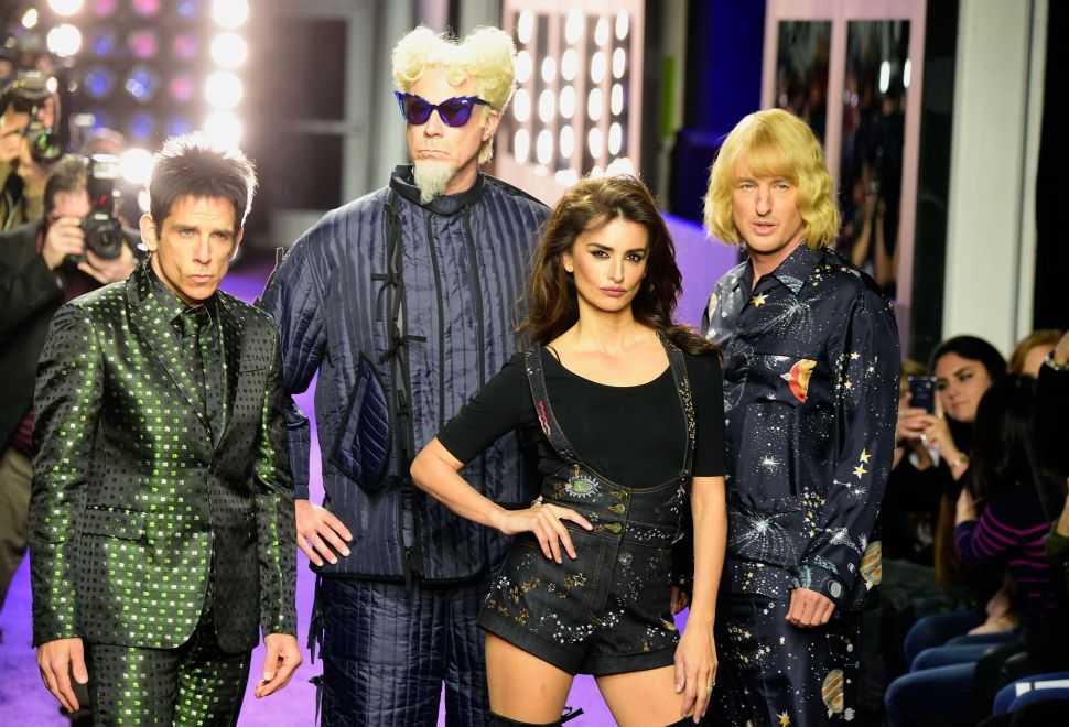 Anna Wintour & Gigi Hadid Helped Derek Zoolander Take Over New York Yesterday