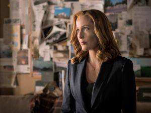 Gillian Anderson as Agent Dana Scully in The X-Files.