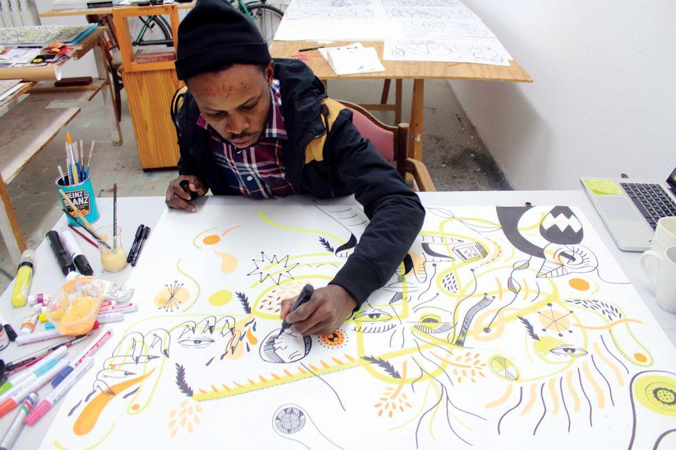 At The Armory Show Nigerian Artist Karo Akpokiere to Create a Fair Within a Fair