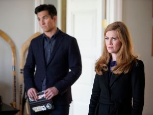 Jay Hayden and Mireille Enos in The Catch.