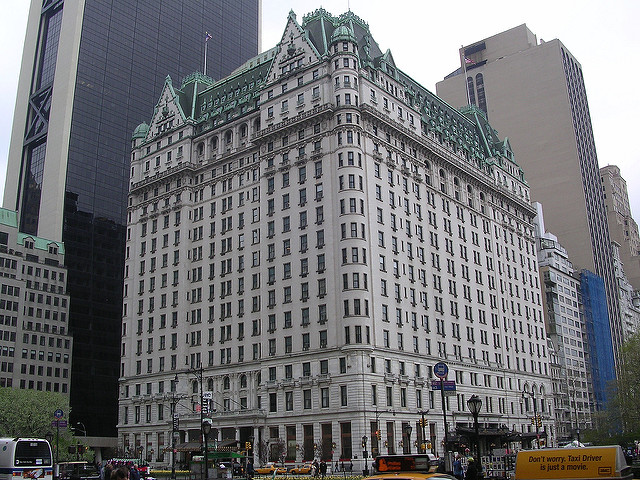On the Market: Plaza Hotel Going to Auction; the Difficulty of Finding Public Toilets
